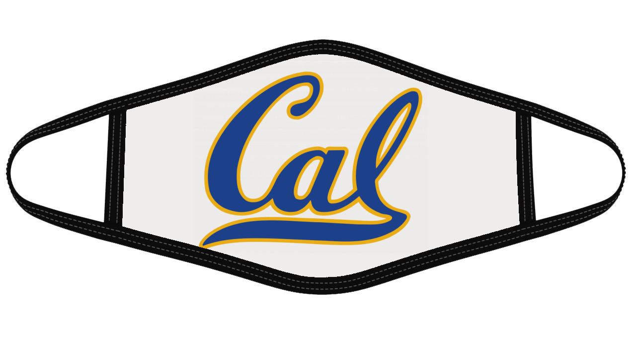 Cal Golden Bears Mask Cloth Face Cover