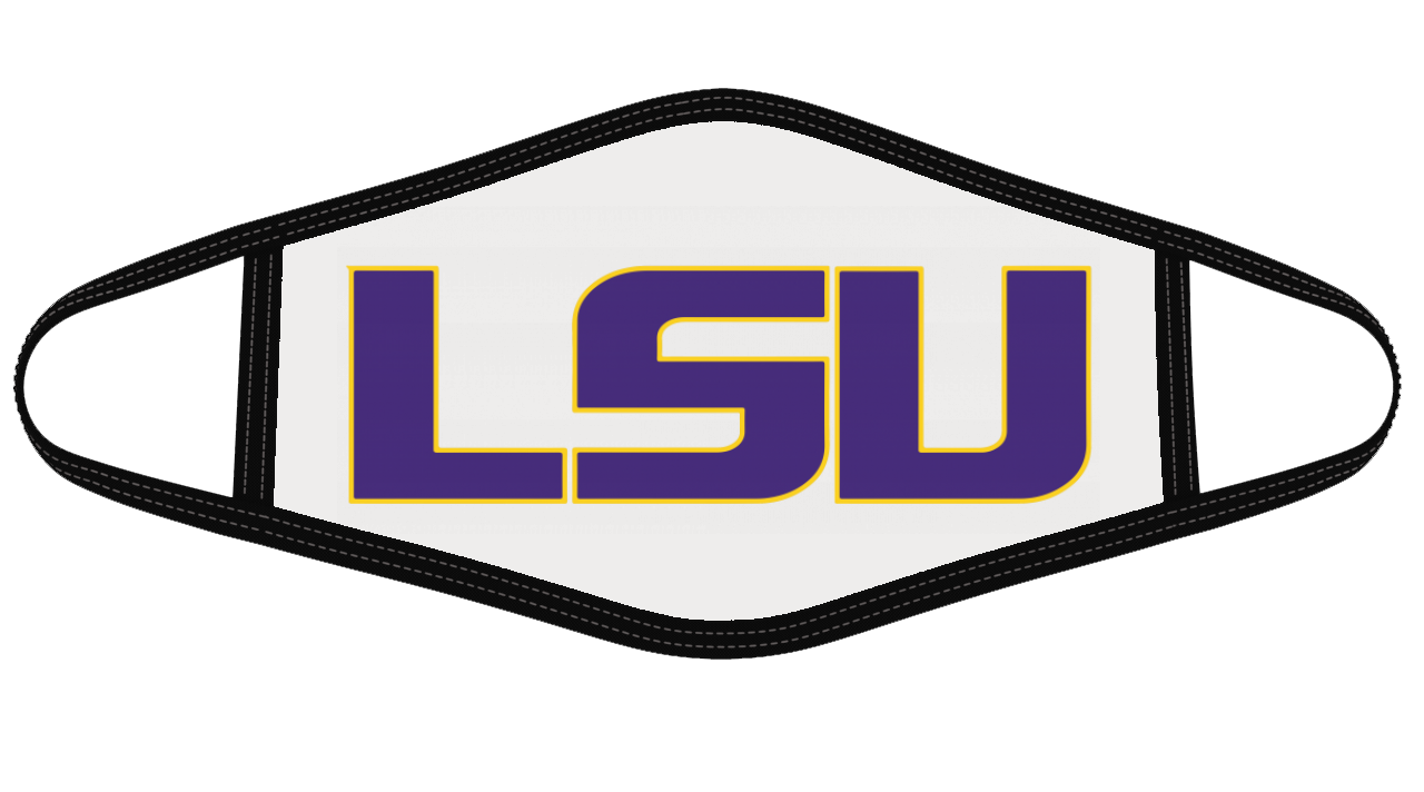 LSU Tigers Mask Cloth Face Cover