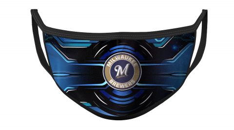 MLB Milwaukee Brewers Baseball For Fans Cool Face Masks Face Cover