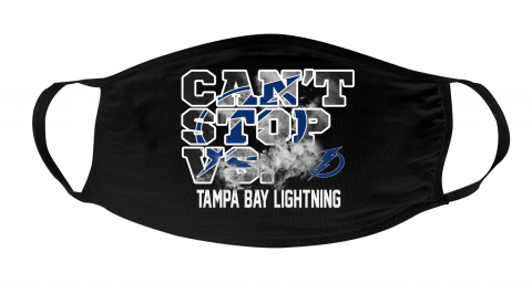 NHL Tampa Bay Lightning Hockey Can't Stop Vs Face Masks Face Cover
