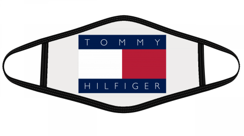 Tommy Hilfiger Logo Mask Cloth Face Cover