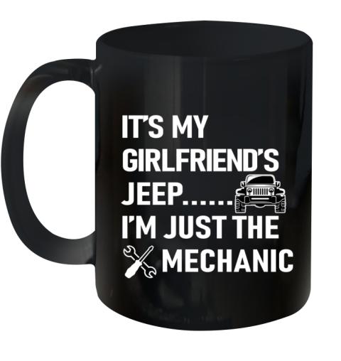 Mechanic Girlfriend Ceramic Mug 11oz