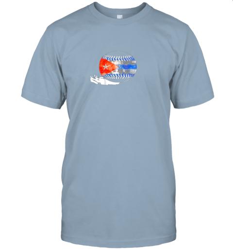 pht6 vintage baseball cuba flag shirt cuban pride jersey t shirt 60 front light blue