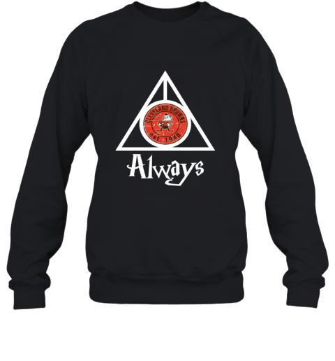 Always Love The Cleveland Browns x Harry Potter Mashup NFL Sweatshirt