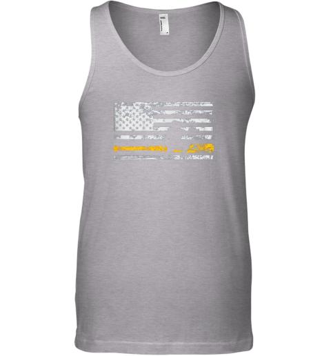 jkis softball catcher shirts baseball catcher american flag unisex tank 17 front sport grey