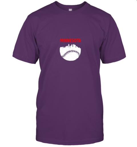 srgr retro minnesota baseball minneapolis cityscape vintage shirt jersey t shirt 60 front team purple