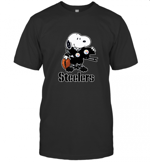 Snoopy A Strong And Proud Pittsburgh Steelers NFL T-Shirt