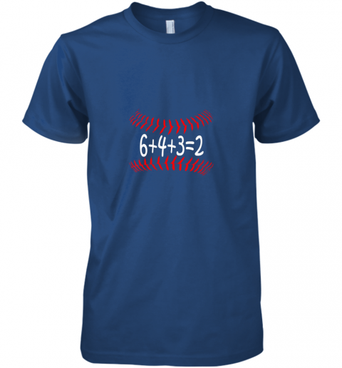 mvo5 funny baseball 6432 double play shirt i gift 6 4 32 math premium guys tee 5 front royal