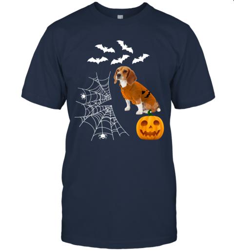 Funny Pumpkin Beagle Matching Beagle Dog Halloween T-Shirt