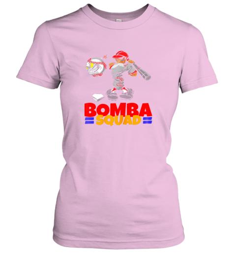 yrik bomba squad twins shirt for men women baseball minnesota ladies t shirt 20 front light pink