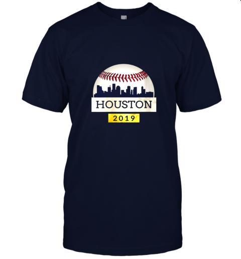 j2px houston baseball shirt 2019 astro skyline on giant ball jersey t shirt 60 front navy