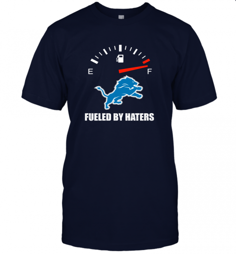 lzld fueled by haters maximum fuel detroit lions jersey t shirt 60 front navy