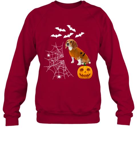 Funny Pumpkin Beagle Matching Beagle Dog Halloween Sweatshirt