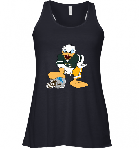 9qmn you cannot win against the donald green bay packers nfl flowy tank 32 front midnight