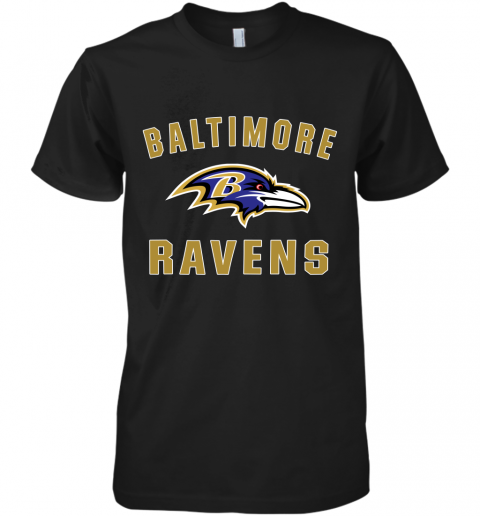bns3 mens baltimore ravens nfl pro line by fanatics branded gray victory arch t shirt premium guys tee 5 front black