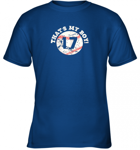 lj33 that39 s my boy 17 baseball player mom or dad gift youth t shirt 26 front royal