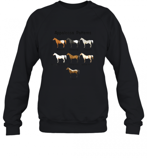 Appaloosa Patterns Gift For Riding Horse Lovers TShirt Sweatshirt