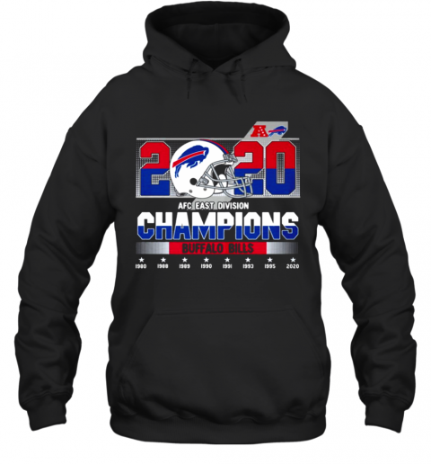 2020 AFC East Division Champions Buffalo Bills 1980 2020 Hoodie