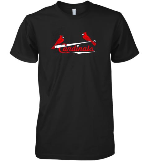 Cardinal Sports Shirt  St Louis Baseball Fan Premium Men's T-Shirt