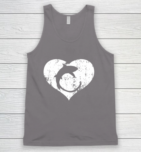 I Love Sharks Gifts Thresher Shark Heart Valentine Gift Tank Top 6