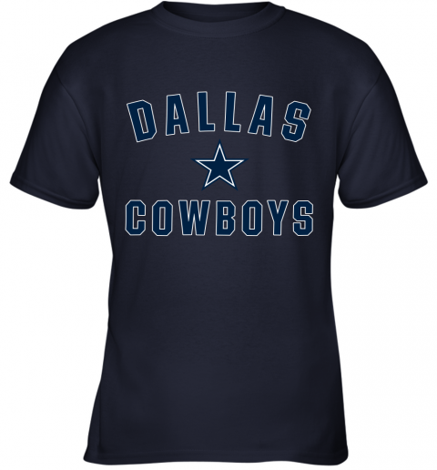 Dallas Cowboys NFL Pro Line by Fanatics Branded Gray Youth T-Shirt