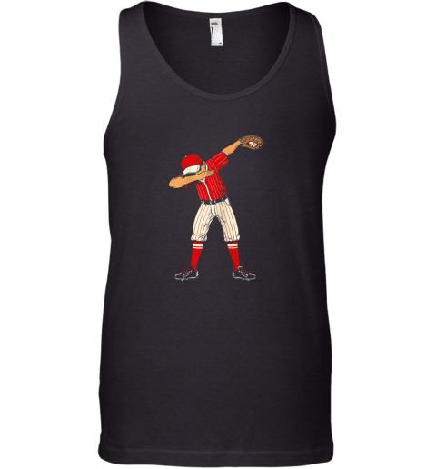 Dabbing Baseball Catcher Gift Shirt Kids, Men, Boys BZR Tank Top