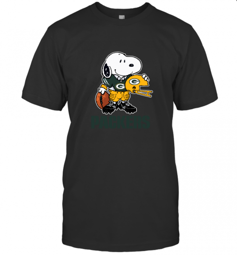 Snoopy A Strong And Proud Green Bay Packers NFL T-Shirt