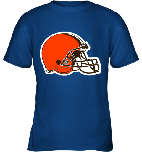 iozq cleveland browns nfl pro line by fanatics branded brown victory youth t shirt 26 front royal