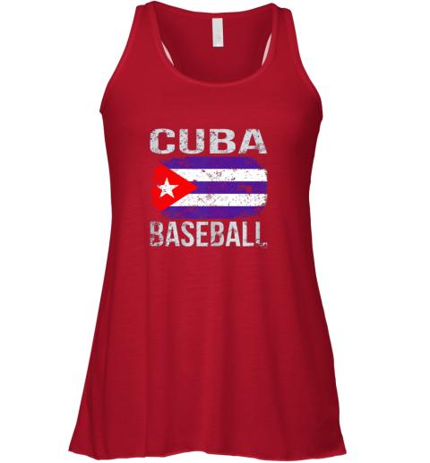 owol cuba baseball cuban flag flowy tank 32 front red