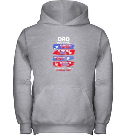 naln javier baez baseball buddy shirtapparel youth hoodie 43 front sport grey