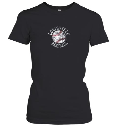 Vintage Louisville Baseball Women's T-Shirt