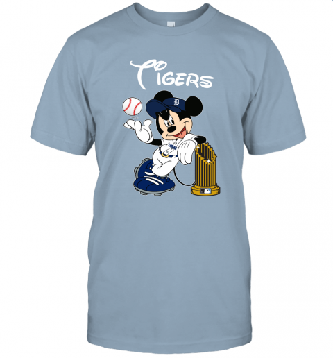 Detroit Tigers Mickey Taking The Trophy MLB 2019 Unisex Jersey Tee