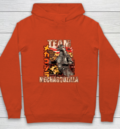 Team Mechagodzilla Japan Vintage Style Youth Hoodie 3