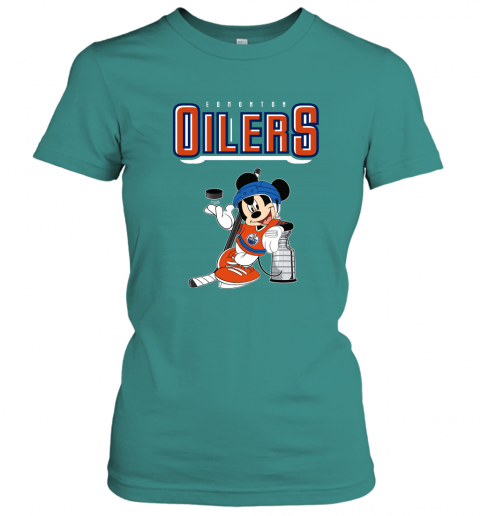 swbv mickey edmonton oilers with the stanley cup hockey nhl shirt ladies t shirt 20 front tropical blue