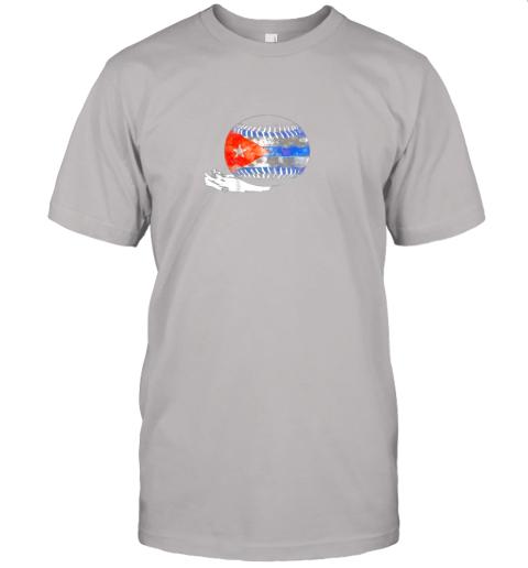 pht6 vintage baseball cuba flag shirt cuban pride jersey t shirt 60 front ash