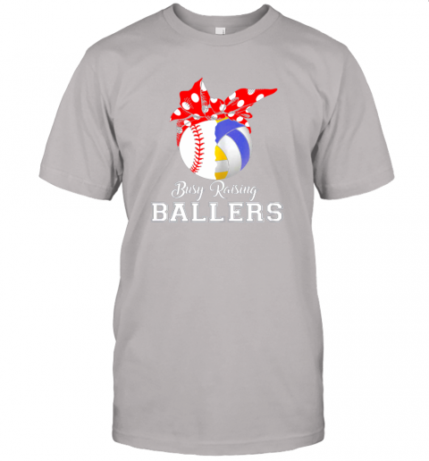 o052 baseball volleyball busy raising ballers shirt mothers day jersey t shirt 60 front ash
