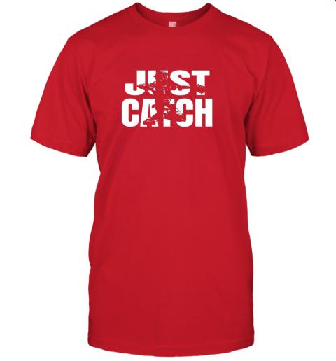 gimj just catch baseball catchers long sleeve shirt baseballisms jersey t shirt 60 front red