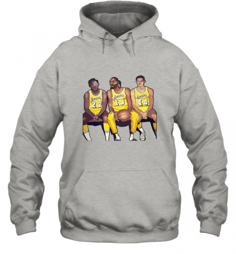 Elgin Baylor x Snoop Dogg x Jerry West Funny Hoodie