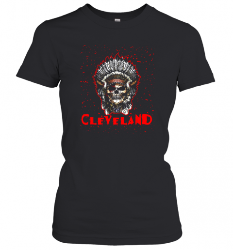 Cleveland Hometown Indian Tribe Vintage Baseball Fan Awesome Women's T-Shirt