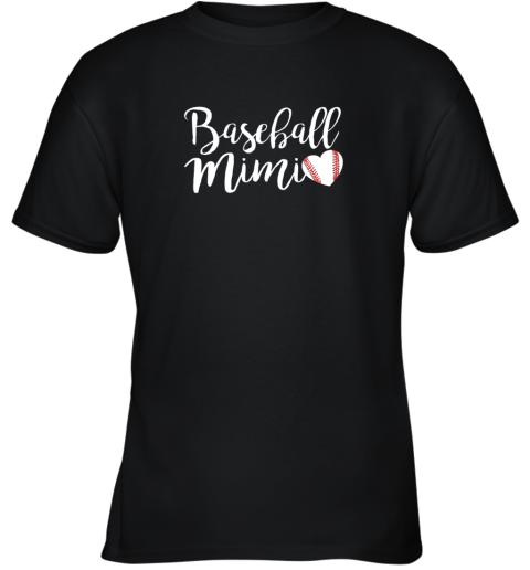 Funny Baseball Mimi Shirt Gift Youth T-Shirt
