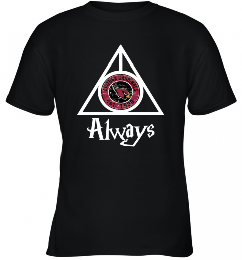 Always Love The Arizona Cardinals x Harry Potter Mashup Youth T-Shirt