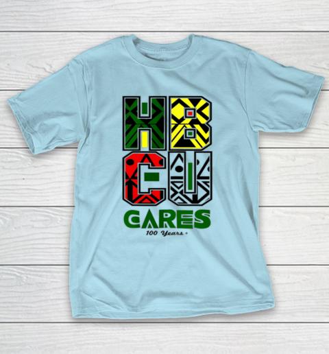 HBCU Cares College University Graduation Gift Black Schools T-Shirt 10