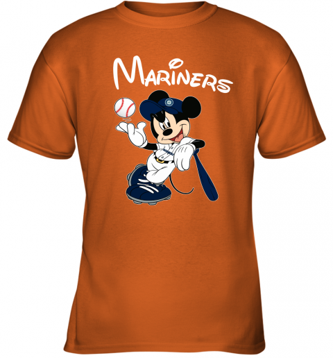 tq4g baseball mickey team seattle mariners youth t shirt 26 front safety orange