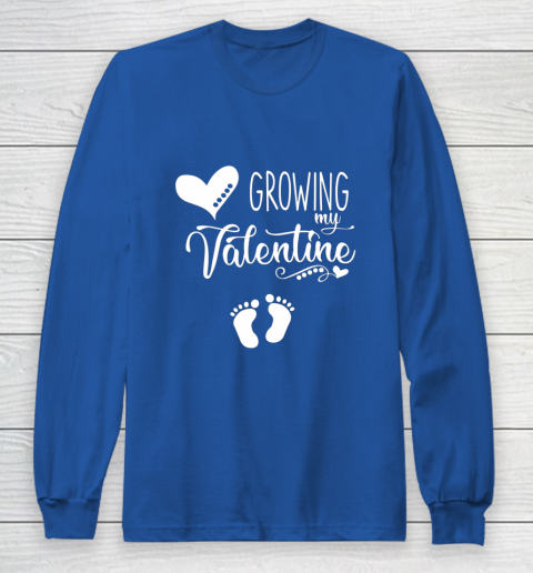 Growing my Valentine Tshirt for Wife Long Sleeve T-Shirt 6