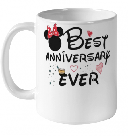 Best Anniversary Ever Minnie Mouse Ceramic Mug 11oz